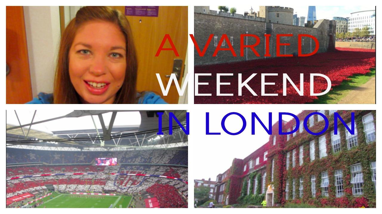A Weekend In London Caroline Towers
