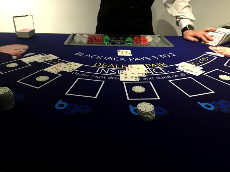 Practicing My Blackjack 'Skills'