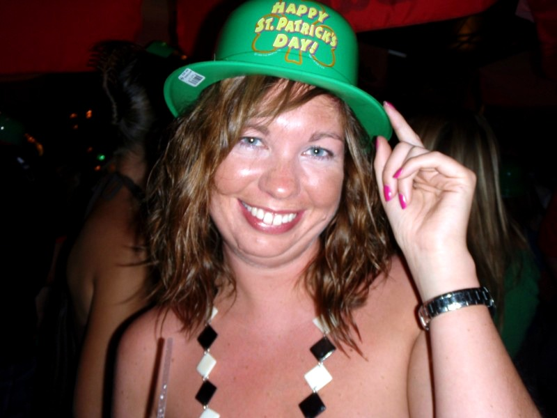 St Patrick's Day Throwback!