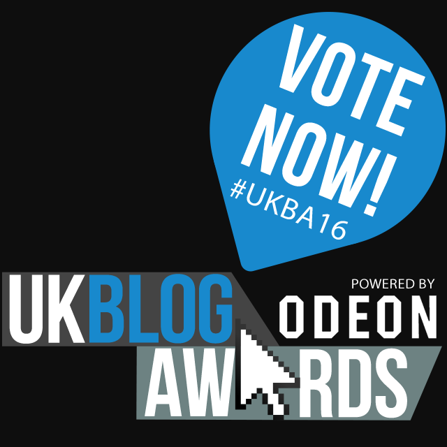 Nominated for a UK Blog Award