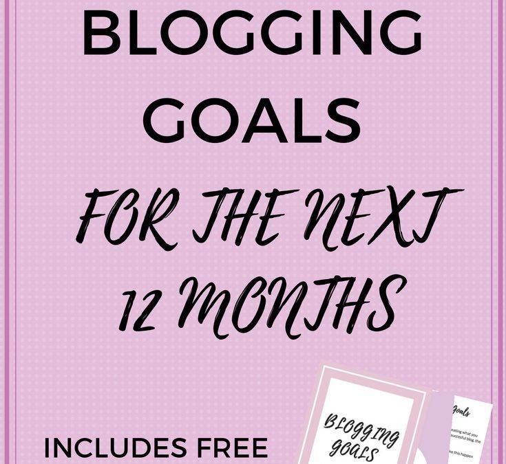 Creating Your Blogging Goals