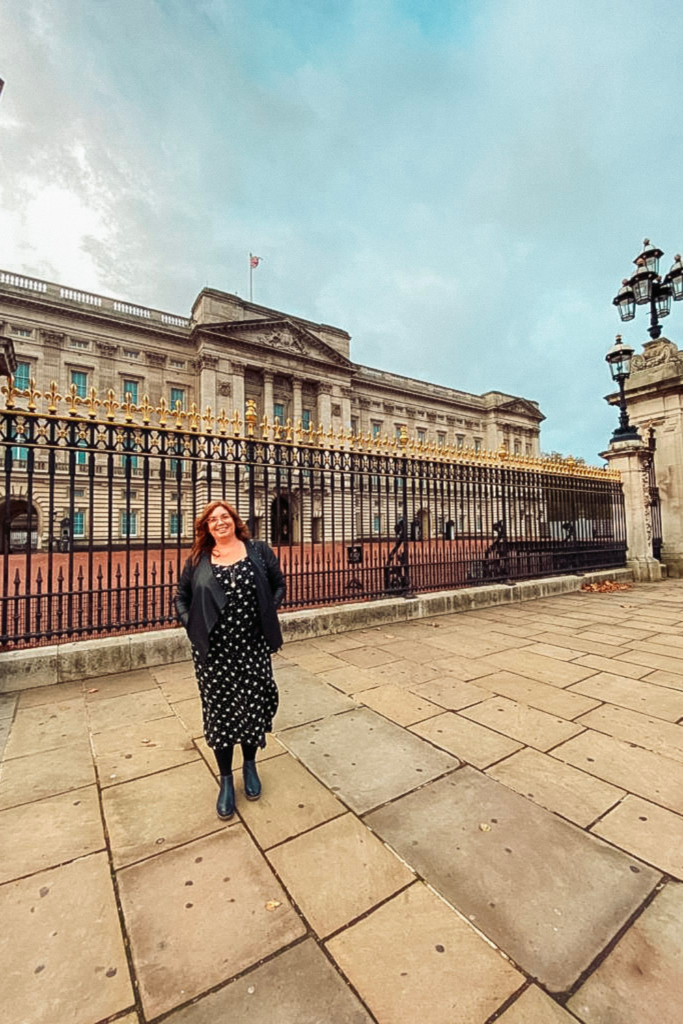 Visiting Buckingham Palace