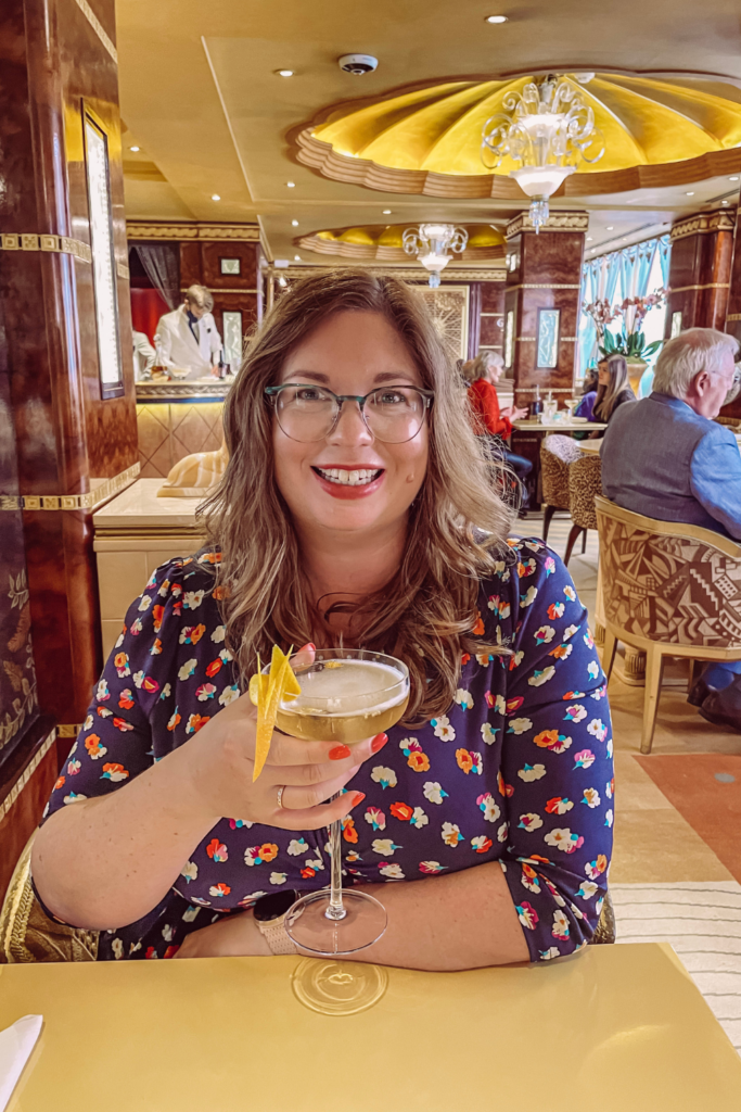 Cocktails at The Ritz