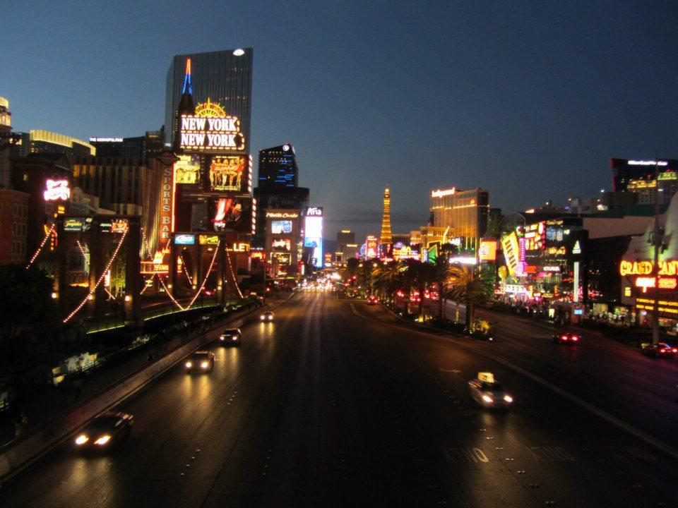 Vegas Strip Night
