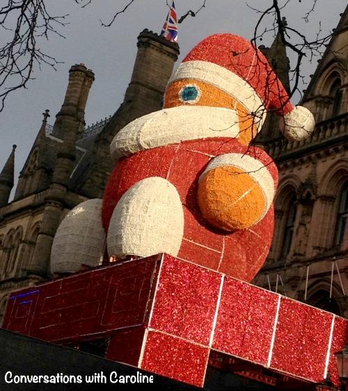 Santa at Manchester Christmas Market