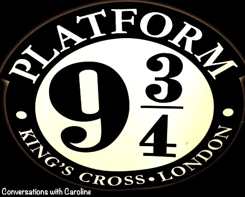 Harry potters 9 3/4 platform at Kings Cross