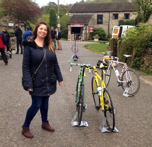 Caroline, Pennine bikes and Emmerdale