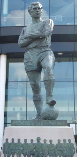 Bobby Moore Statue at Wembley
