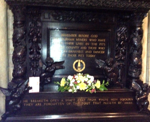 Durham Cathedral Miners Memorial