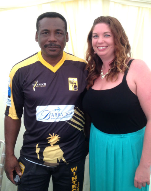 Gordon Greenidge at Lashings Cricket
