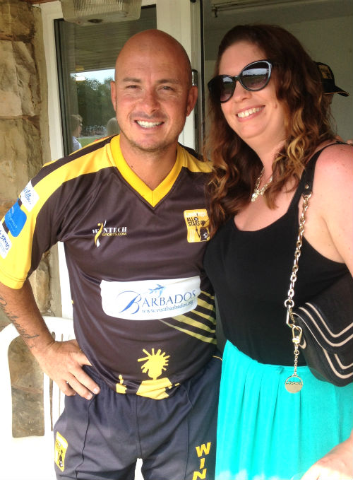 Hershelle Gibbs at Lashings Cricket