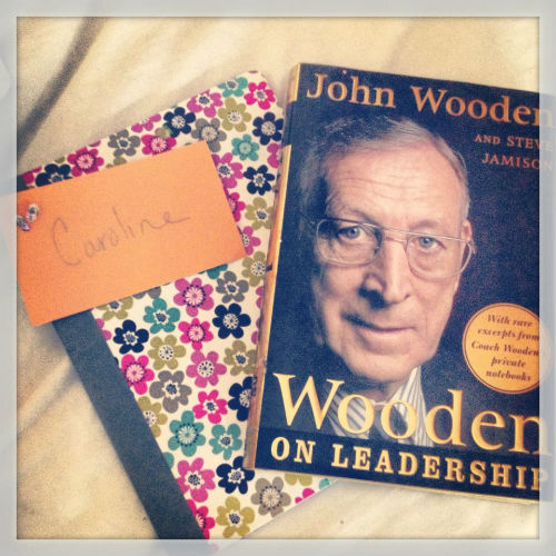 Reading with John Wooden
