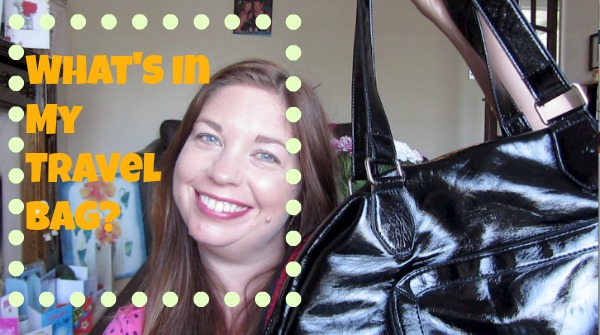 What's In My Travel Bag?!
