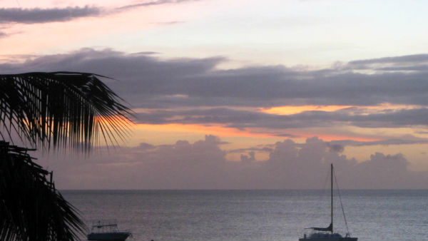 Tropical Sunset Barbados