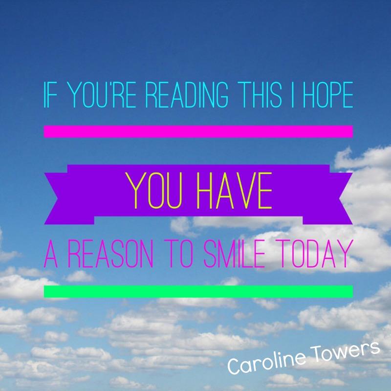 I hope you smile