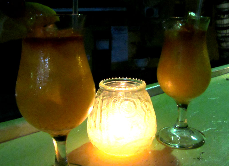 Cocktails at Cafe Sol Barbados Happy Hour