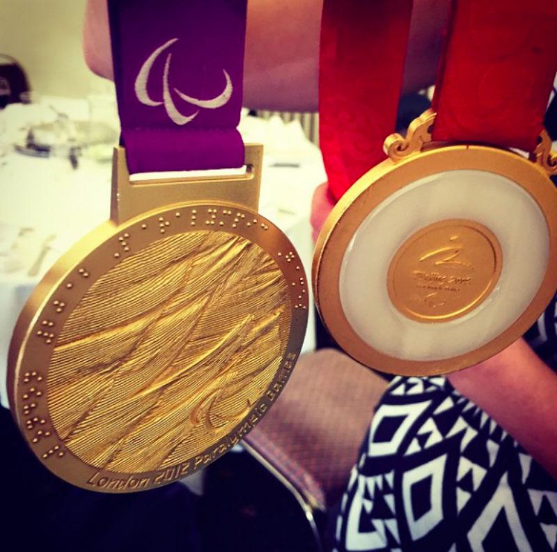 Danielle Brown Gold Medal