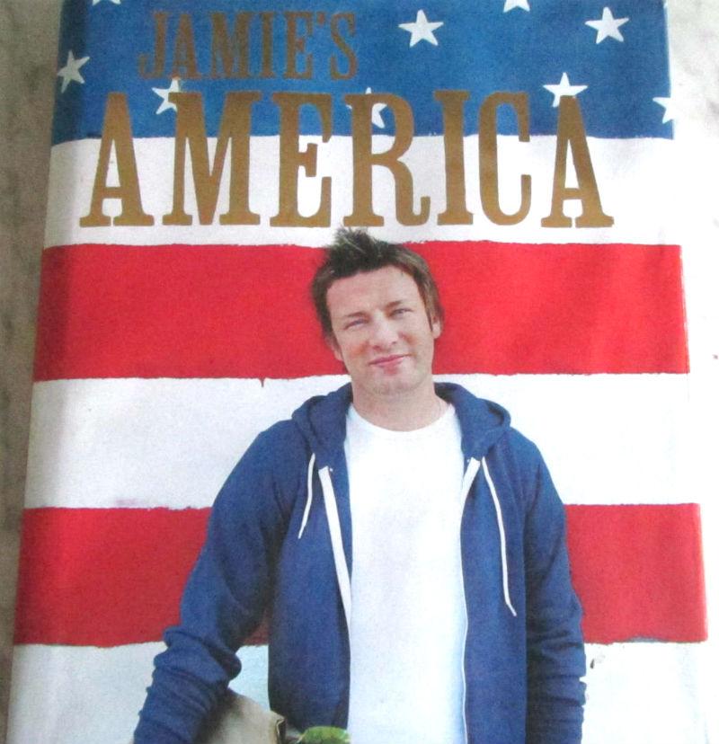 Jamie Oliver America Cookbook Christmas Gift