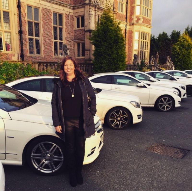 Arbonne White Mercedes