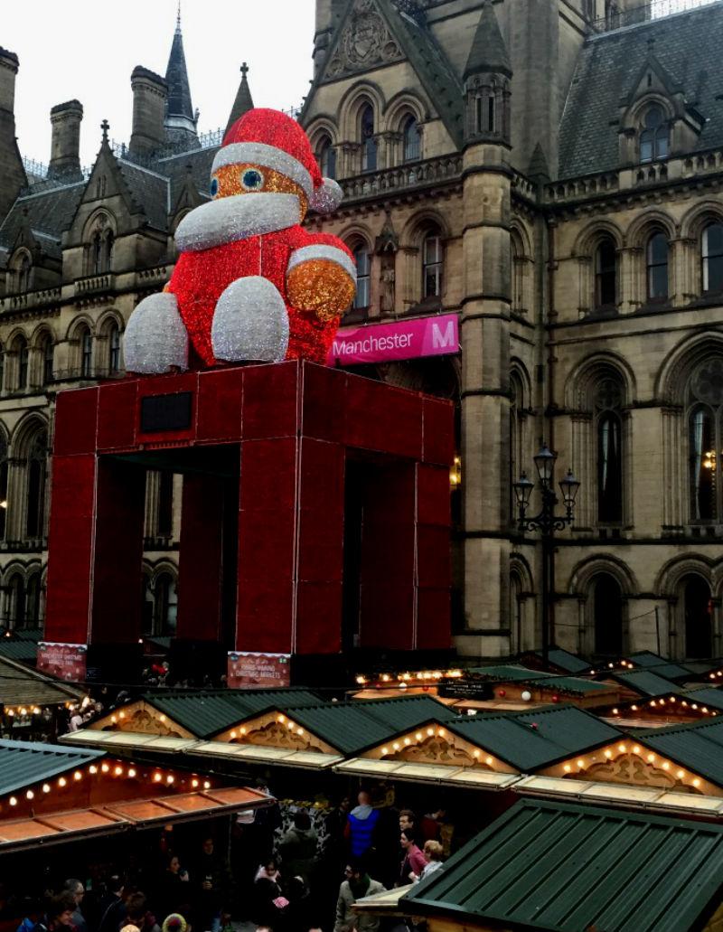 Santa Manchester Christmas Market