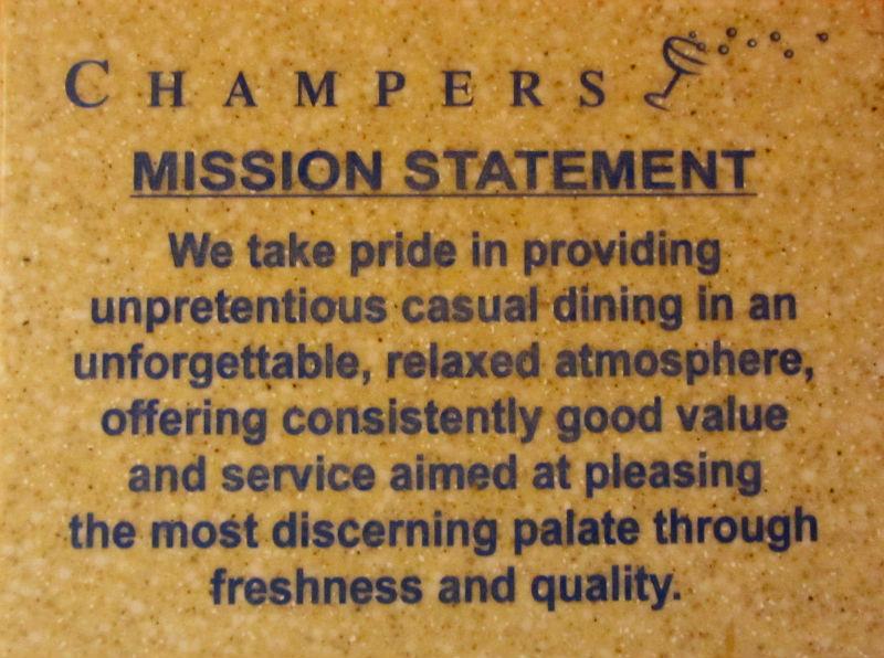 Champers Restaurant Barbados