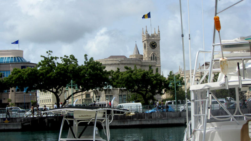 Waterside Cafe, Bridgetown, Barbados