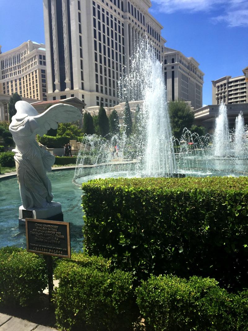 Caesars Palace Las Vegas Fountain
