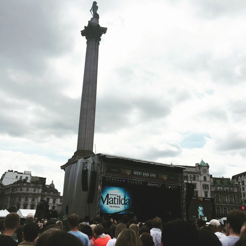 West End Live Trafalgar Square
