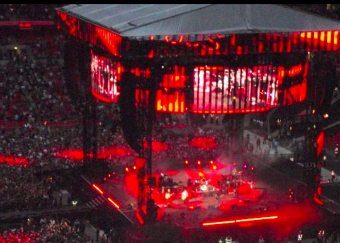Foo Fighters at Wembley