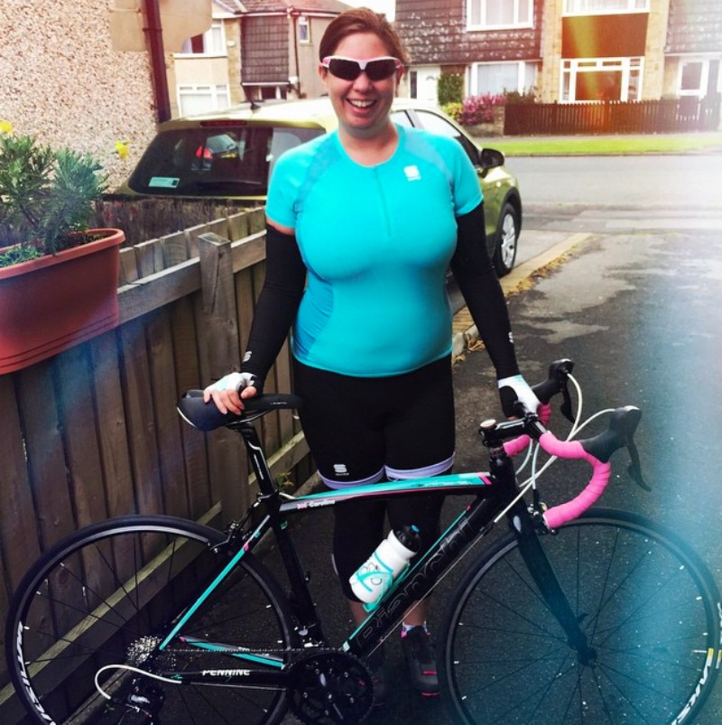 Fitness June 2015 - Cycling, ladies Bianchi