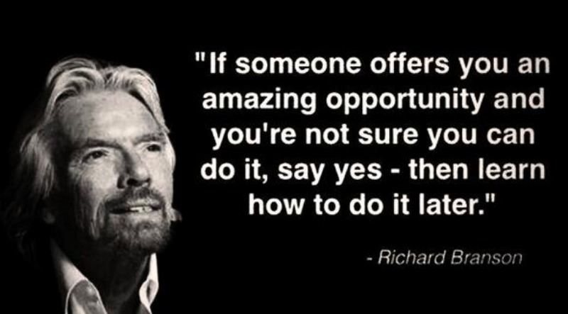 Richard Branson Opportunity Quote