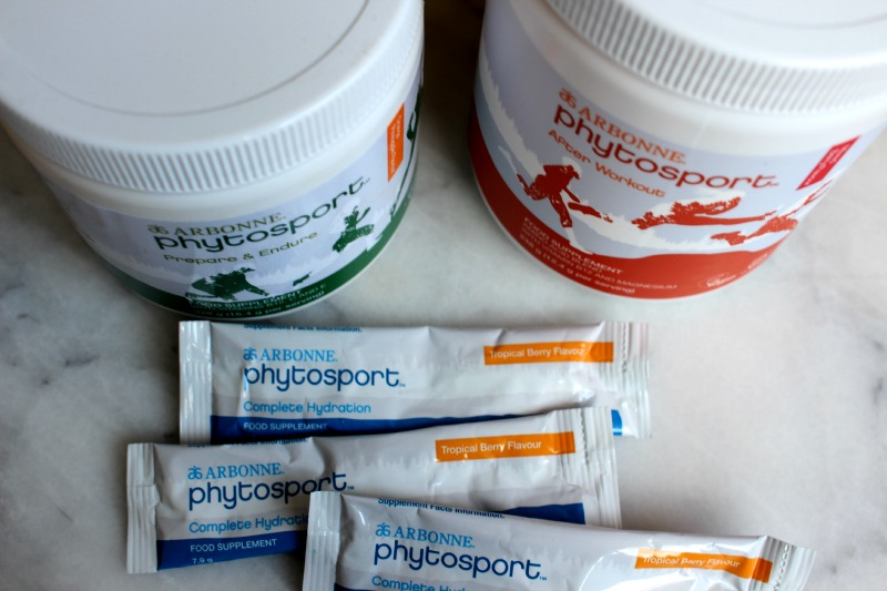 Arbonne Phytosport Sports Nutrition Set
