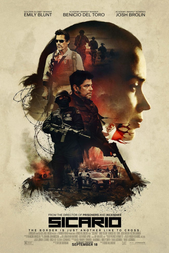 Sicario Movie Film Review