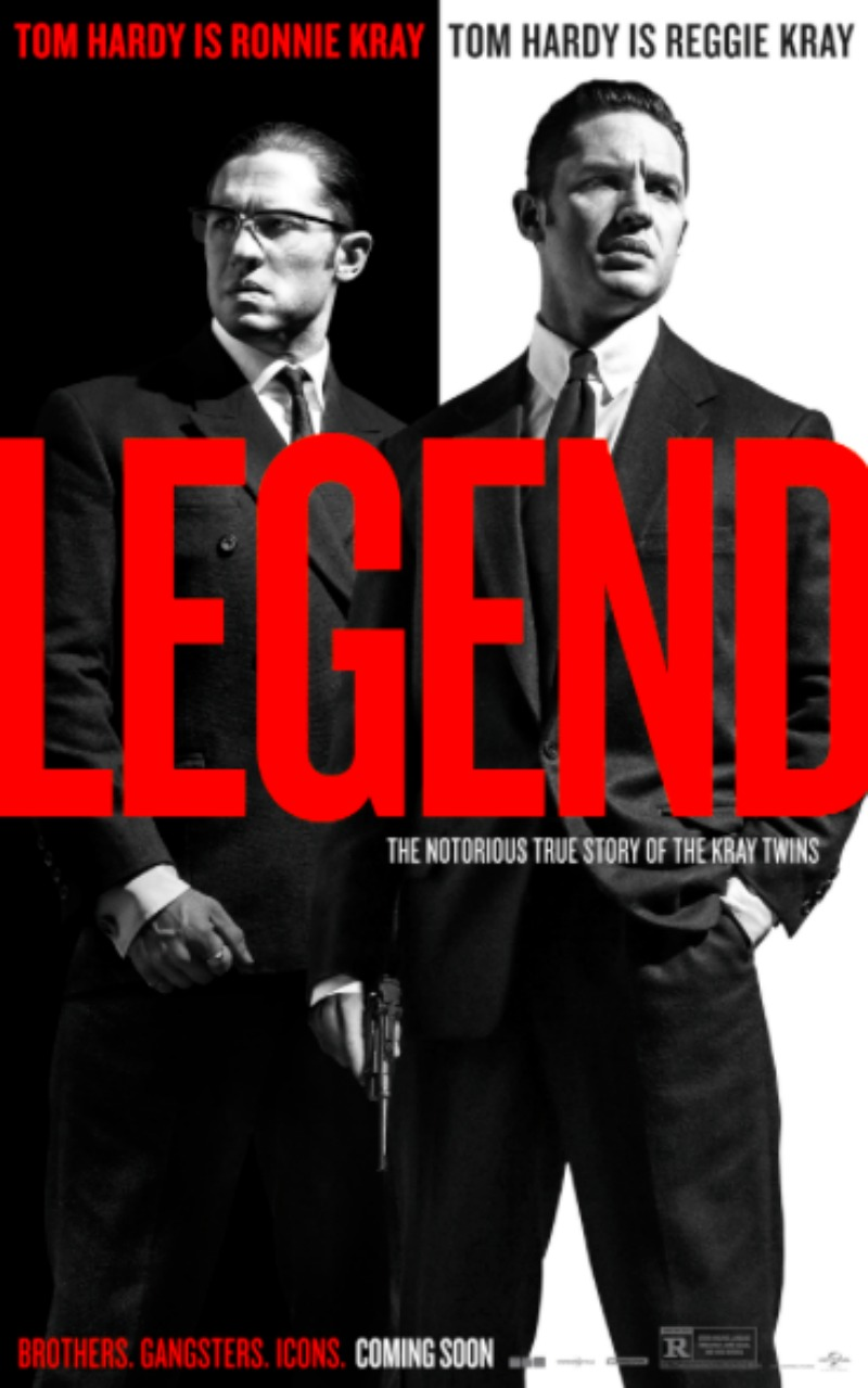 legend tom hardy poster