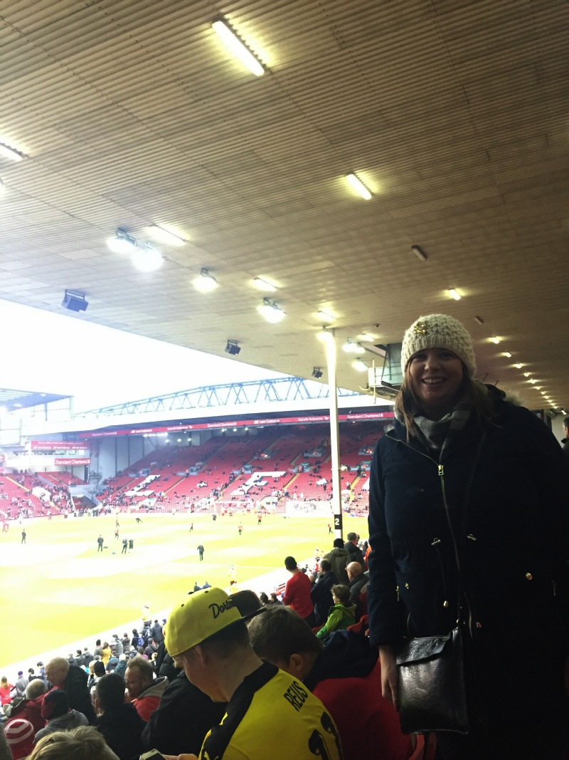 Watching Liverpool at Anfield