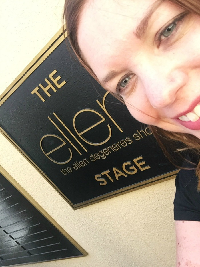 The Ellen Stage, Warner Brothers Studio. Hollywood