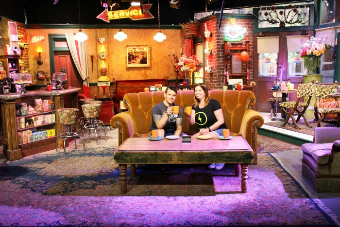 Friends Set Warner Brothers Studio. Hollywood
