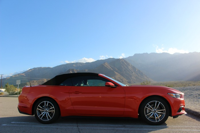 Palm Springs Aerial Tramway Mustang Convertible