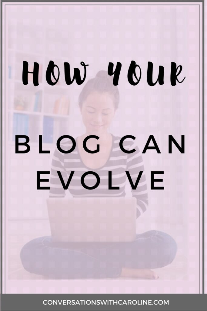 How Your Blog Can Evolve