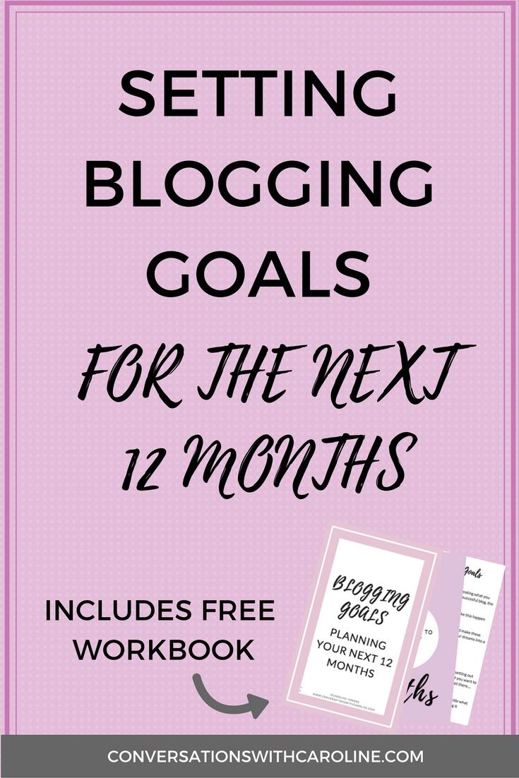 Setting your blogging goals