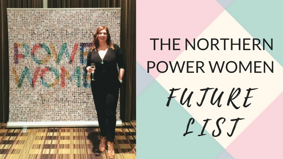 Added to the Northern Power Women Future List!