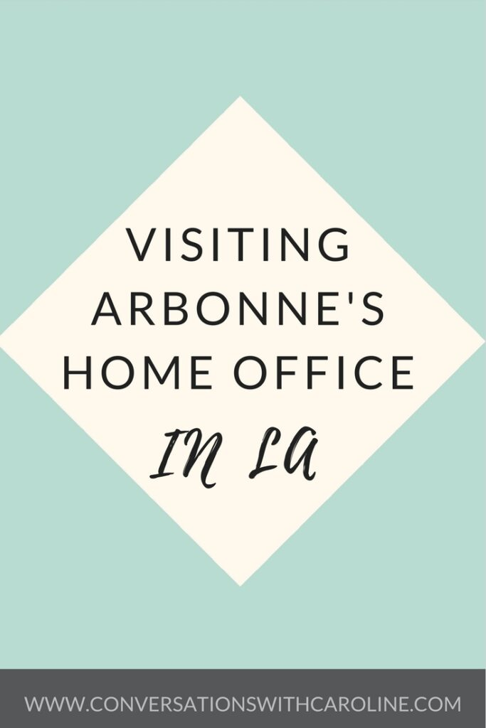 Visiting Arbonne's Home Office in LA