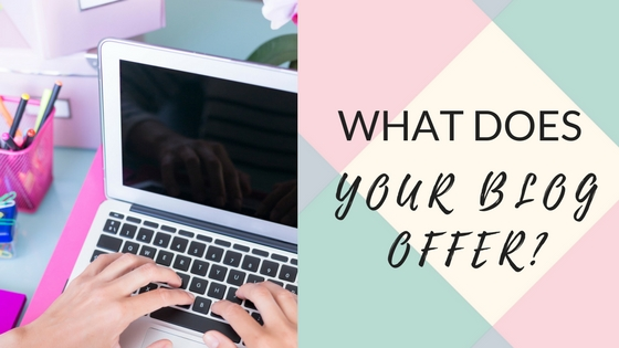 What does your Blog Offer?